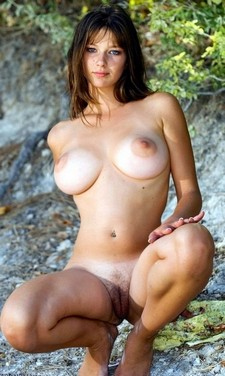 Incredible novice vagina photo with a gorgeous brunette.