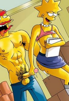 Willie & Lisa Simpson.