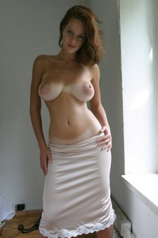 Huge areolas with tan lines