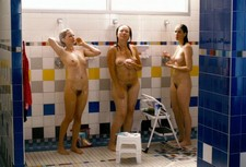 Michelle Williams full frontal nude under shower in Take The Waltz