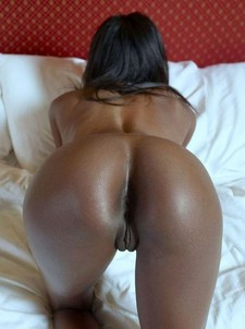 White linen large double bed naked young black tight ass tight black anal and shaved..
