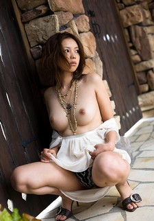Japanese natural busty handsome big real boobs on young asian slut